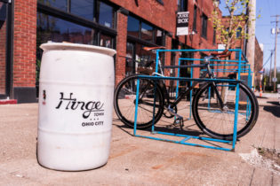 And they renamed the area 'Hingetown,' a handle that even cab drivers have adopted.