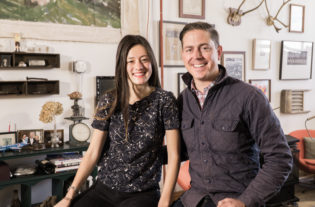 Marika Shioiri-Clark and Graham Veysey initially planned to transform an old firehouse.