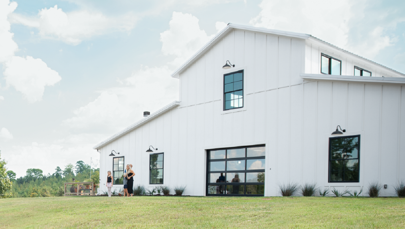 This Home Looks Like a Barn (But Has Enough Room to Be a ... Raised Home Plans Louisiana on louisiana wetlands homes, louisiana inspired homes, louisiana small homes,