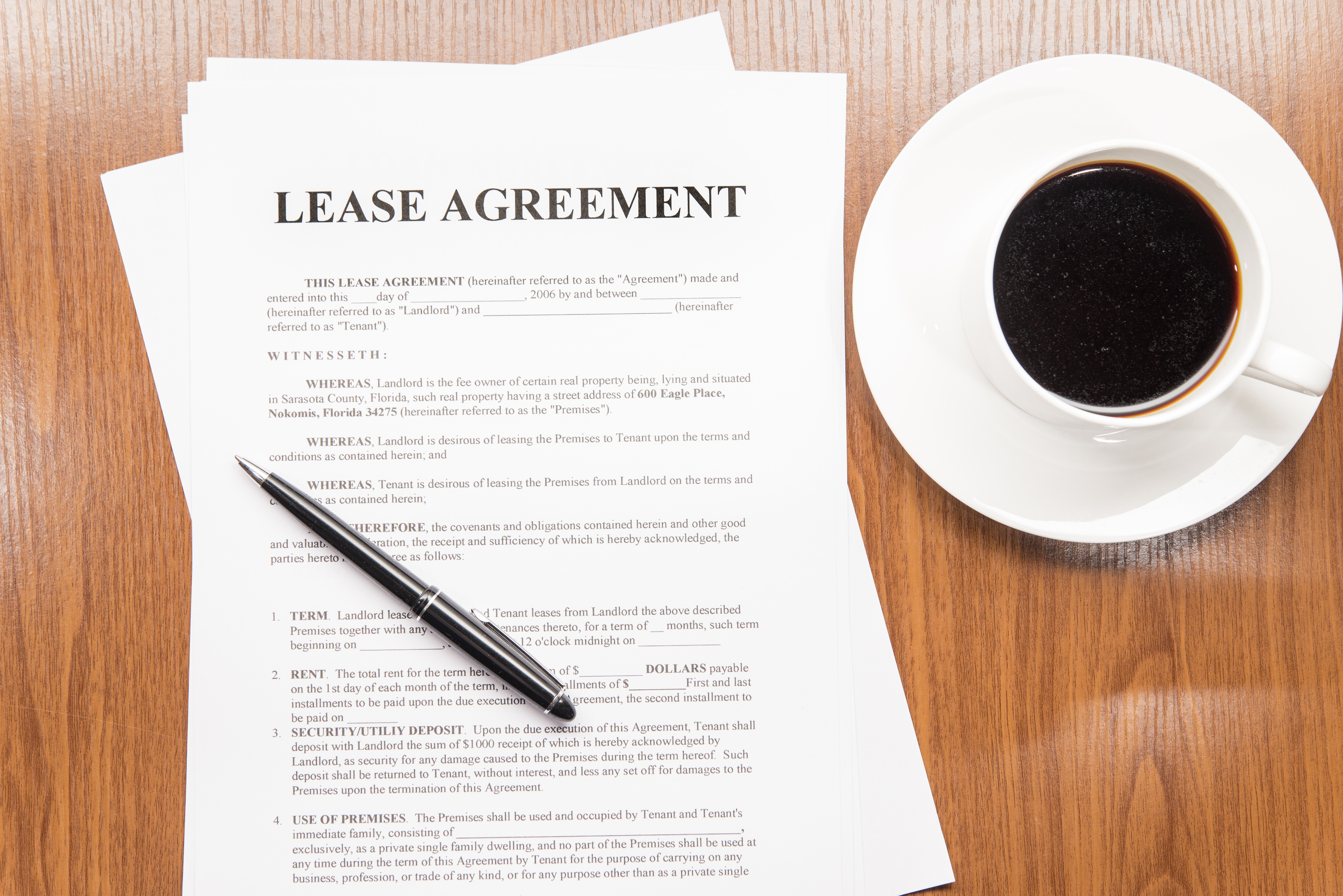 How To Create A Rental Lease Agreement