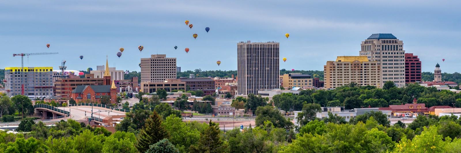 Downtown Colorado Springs, Colo.