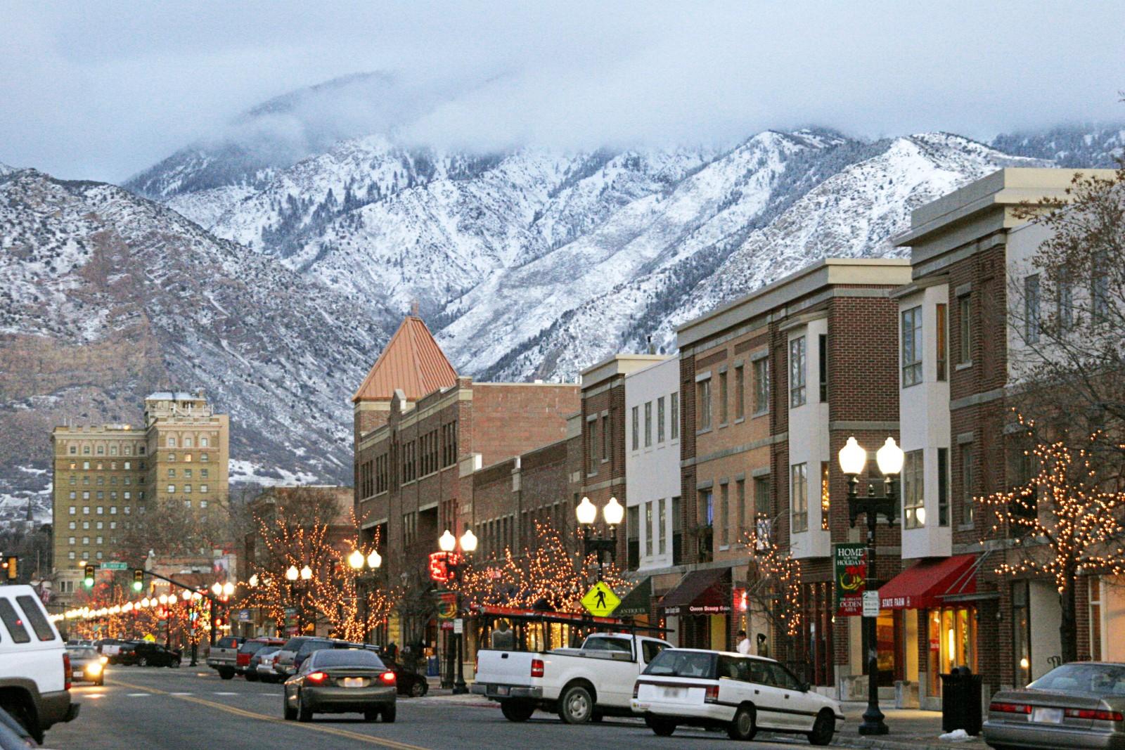 Downtown Ogden, Utah