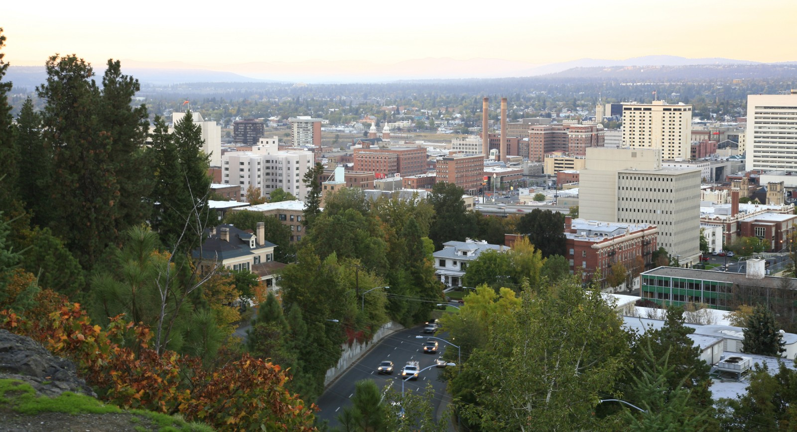 Downtown Spokane, Wash.