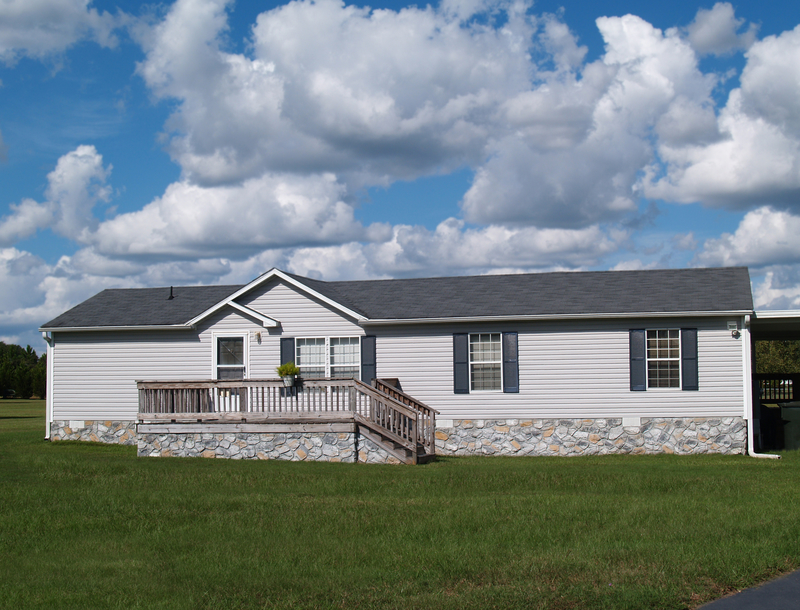 A picture of a type of manufactured home.