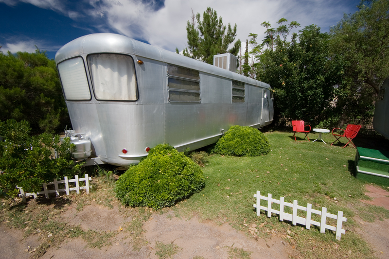 A picture of a type of mobile home.