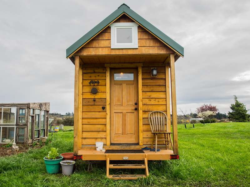 A picture of a type of tiny home.
