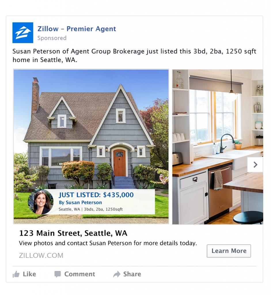 10 Tips For Effective Real Estate Facebook Ads Zillow Premier Agent