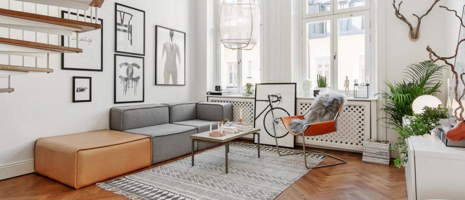 Scandinavian Minimalist Living Room Designs - HotPads Blog