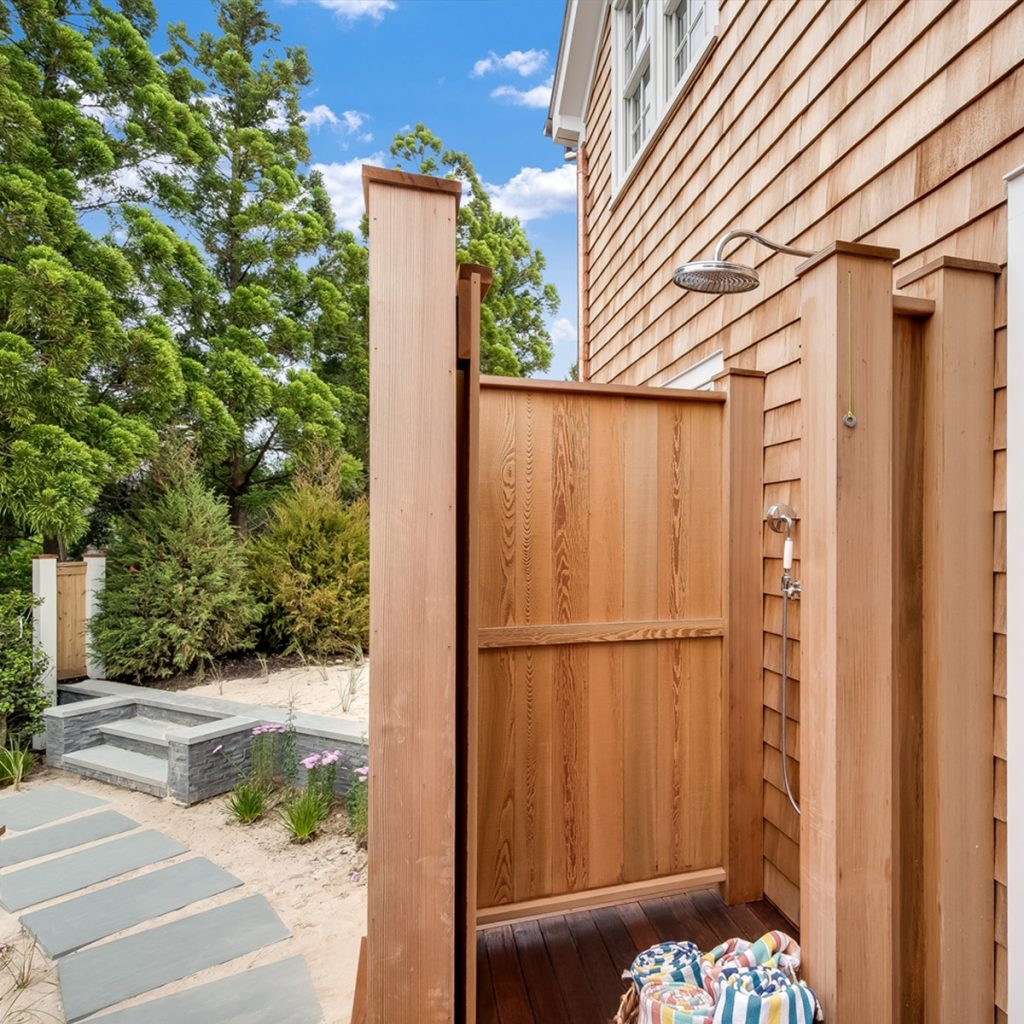 Image of 10 Bayberry Lane Outdoor Shower