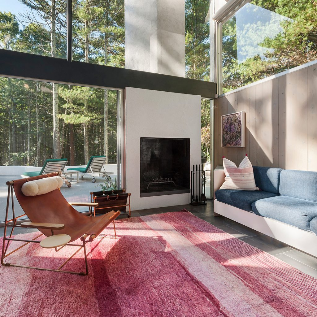 Green Living Room Ideas In East Hampton New York: Iconic Charles Gwathmey House In East Hampton Asks $2.5M