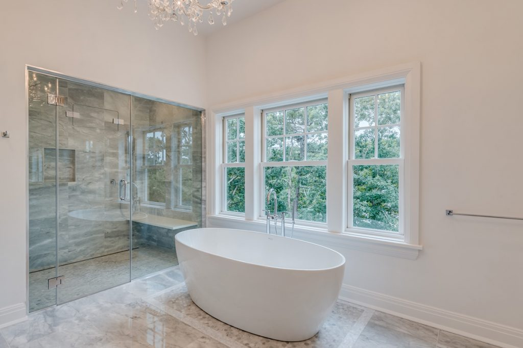 image of hamptons home design trends bathroom