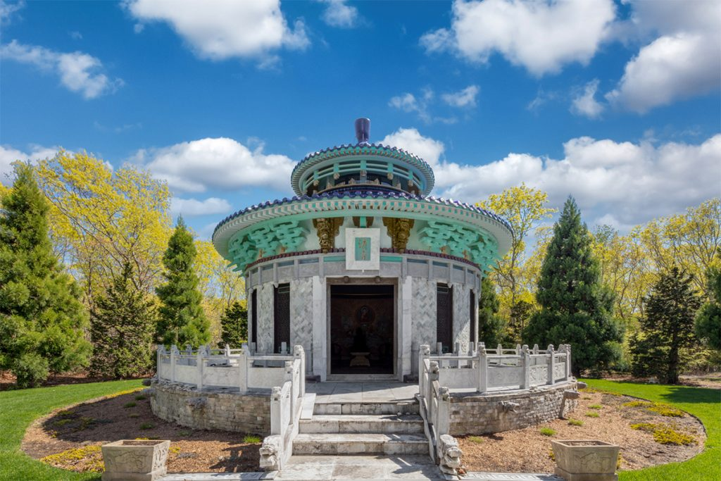 image of bridgehampton china temple