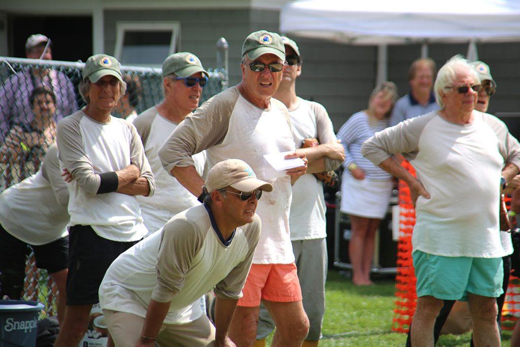 image of artists and writers softball game east hampton