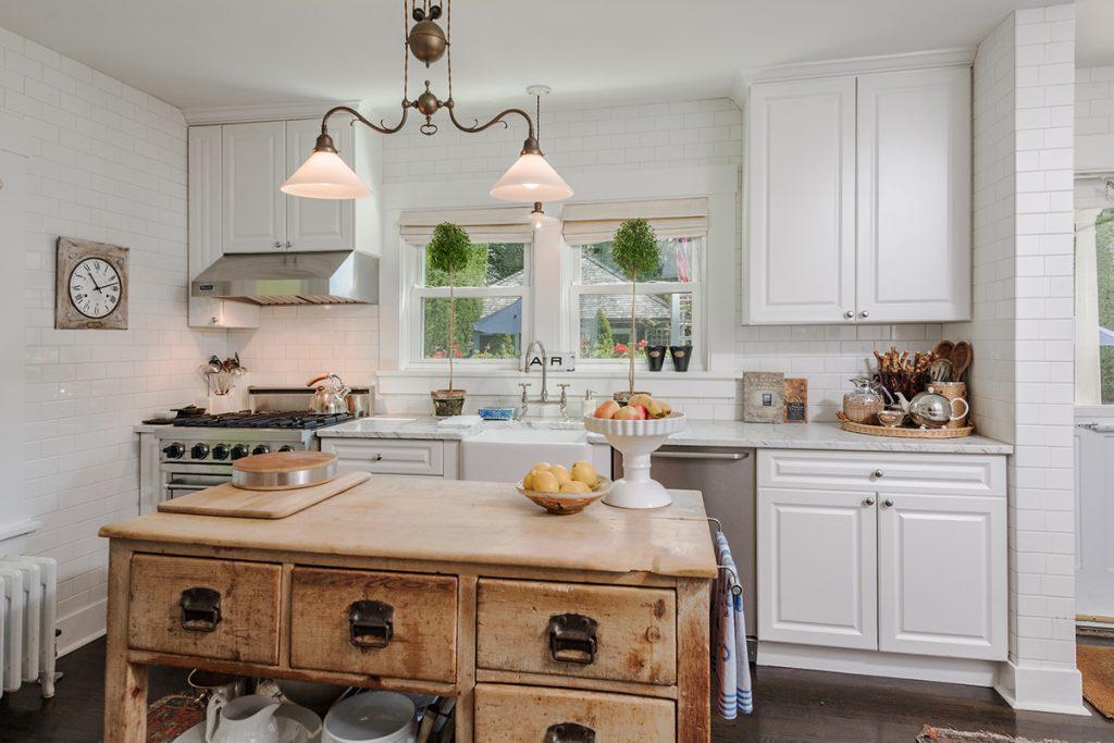 image of rustic kitchen design hamptons