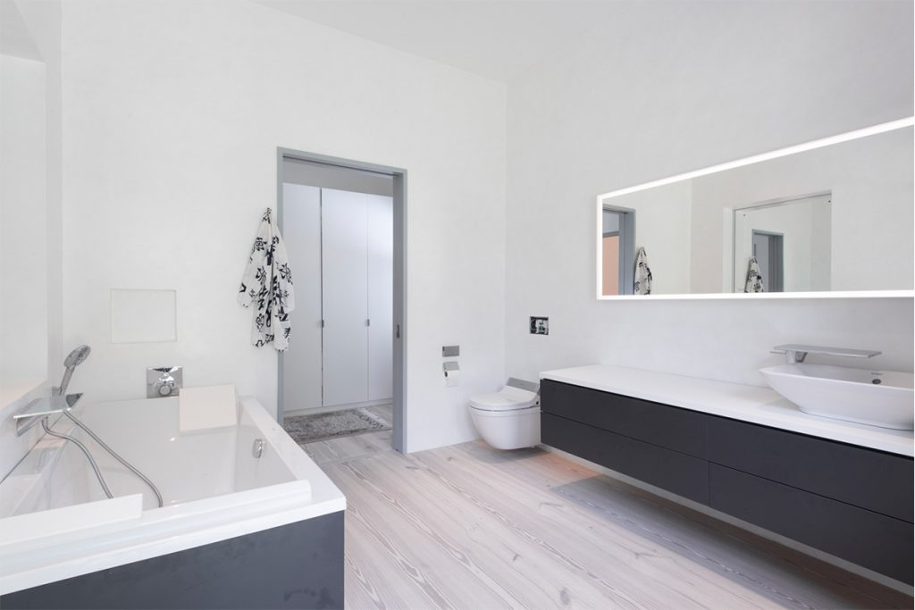 image of greenport passive house bathroom