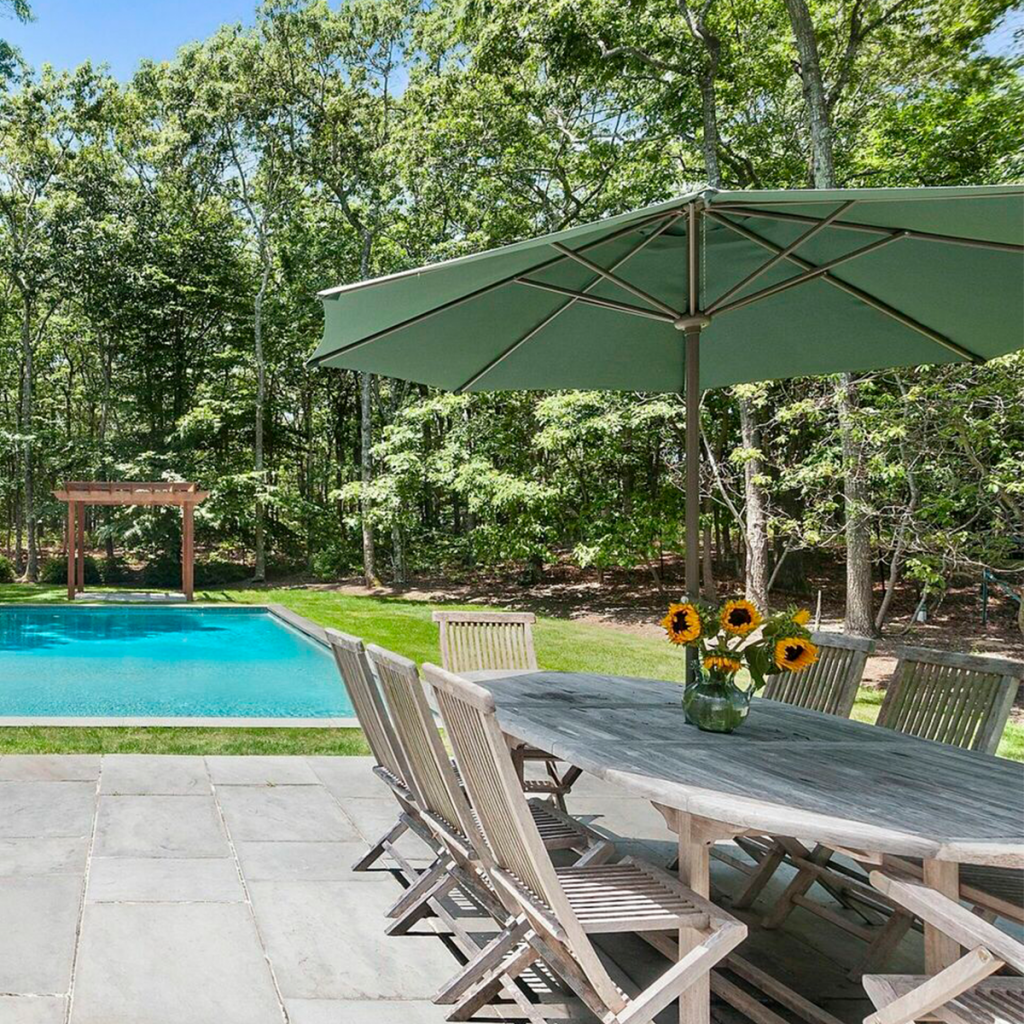 A photo of the pool at 25 Oyster Pond Ln, East Hampton
