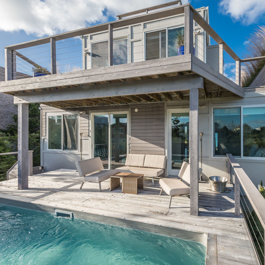 A photo of the pool at 1932 Montauk Hwy, Amagansett