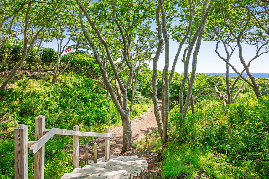 Photo of walking down to beach at 32 windmill