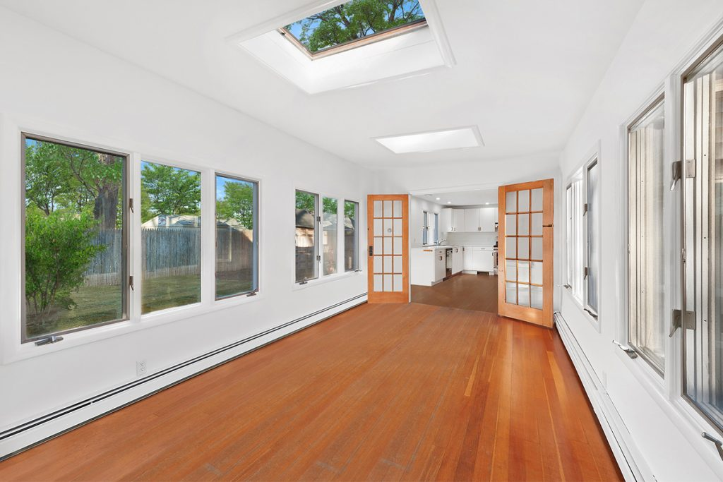 image of andrea grover house sunroom