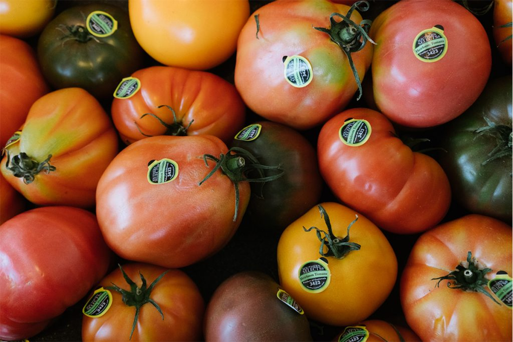image of hamptons farm stand tomatoes