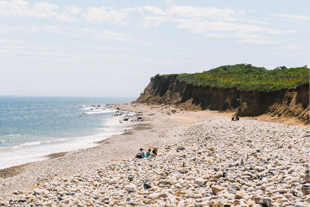 image of montauk beach