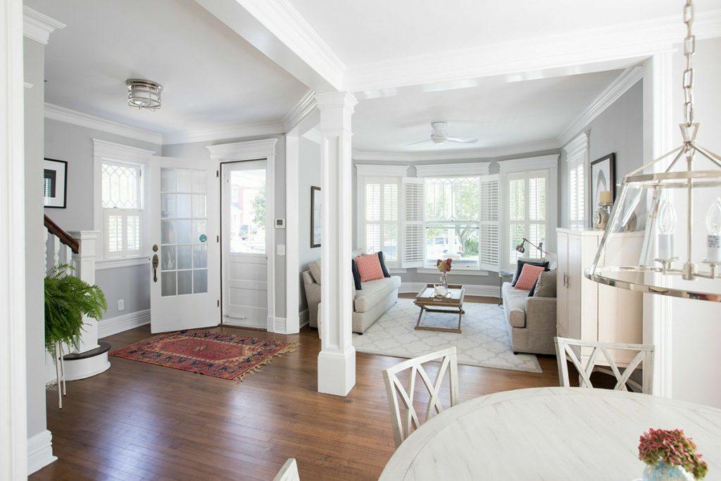 image of greenport long island new york living room