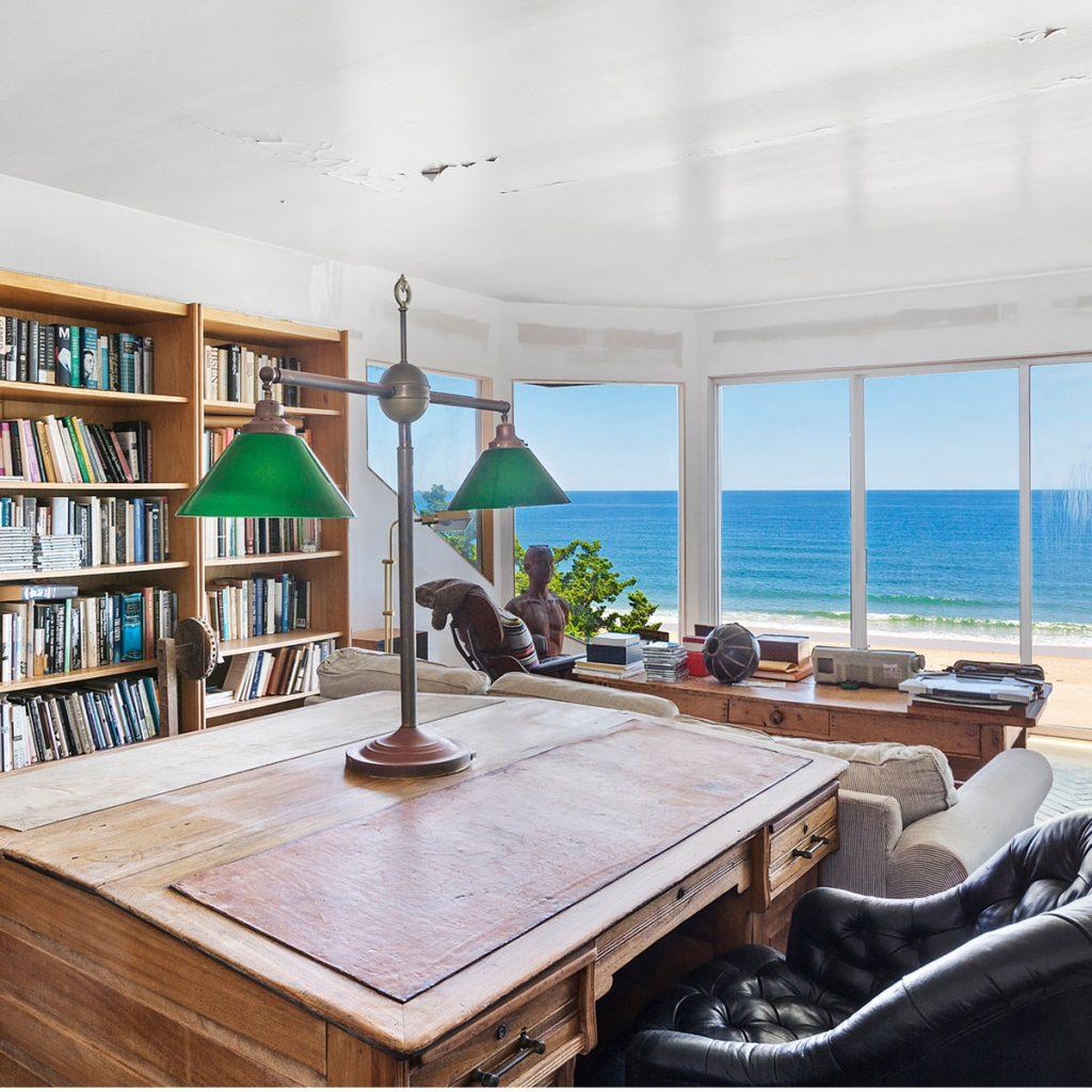 image of edward albee house montauk office