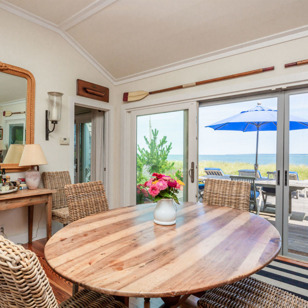 A photo of the dining room at 204 Shore Rd, Amagansett