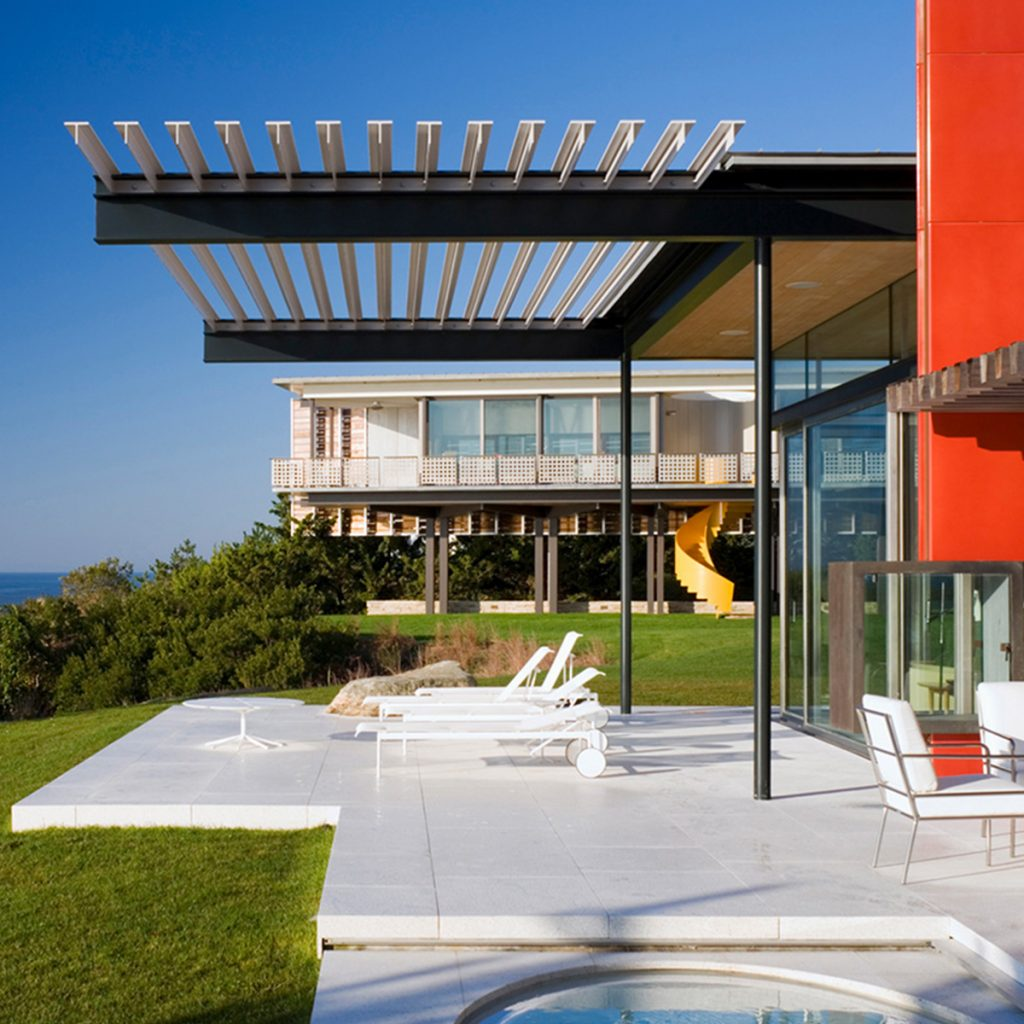 image of montauk modern house