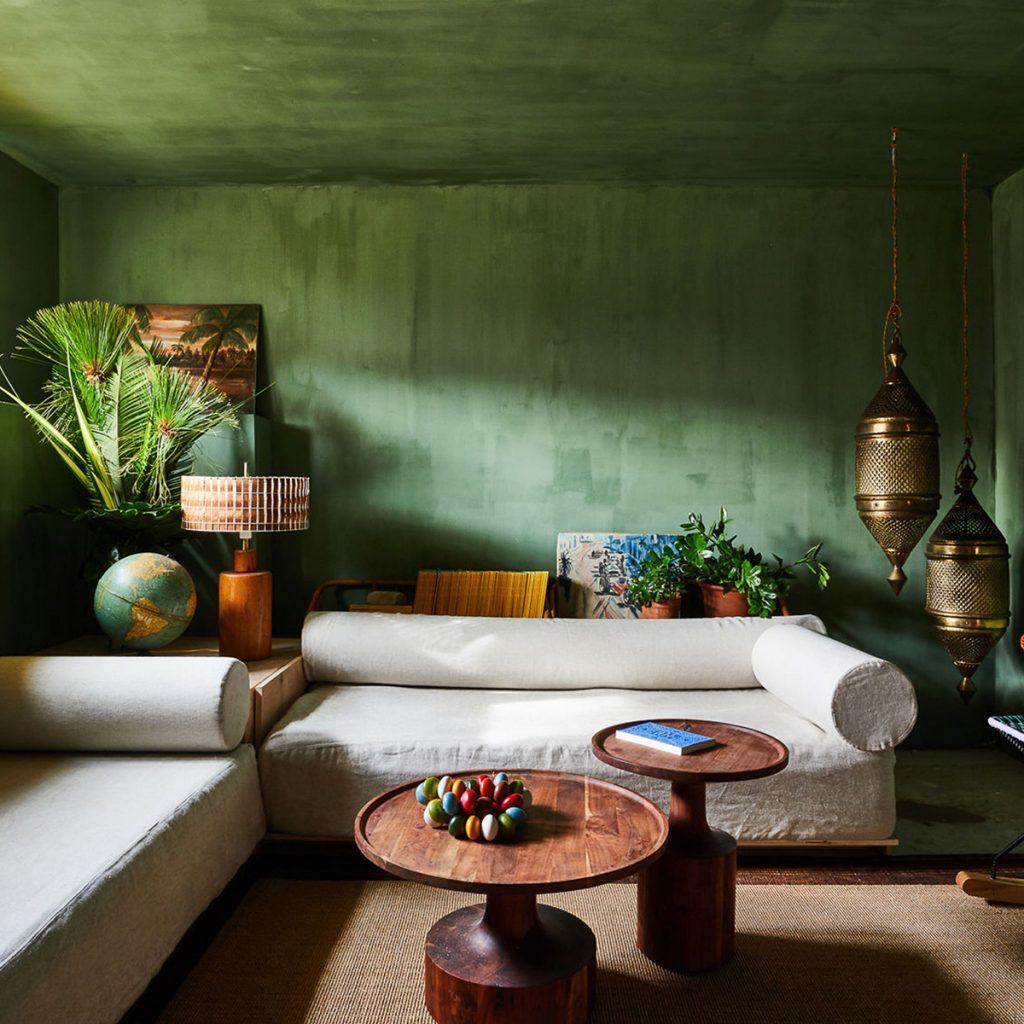 robert mckinley montauk house green room