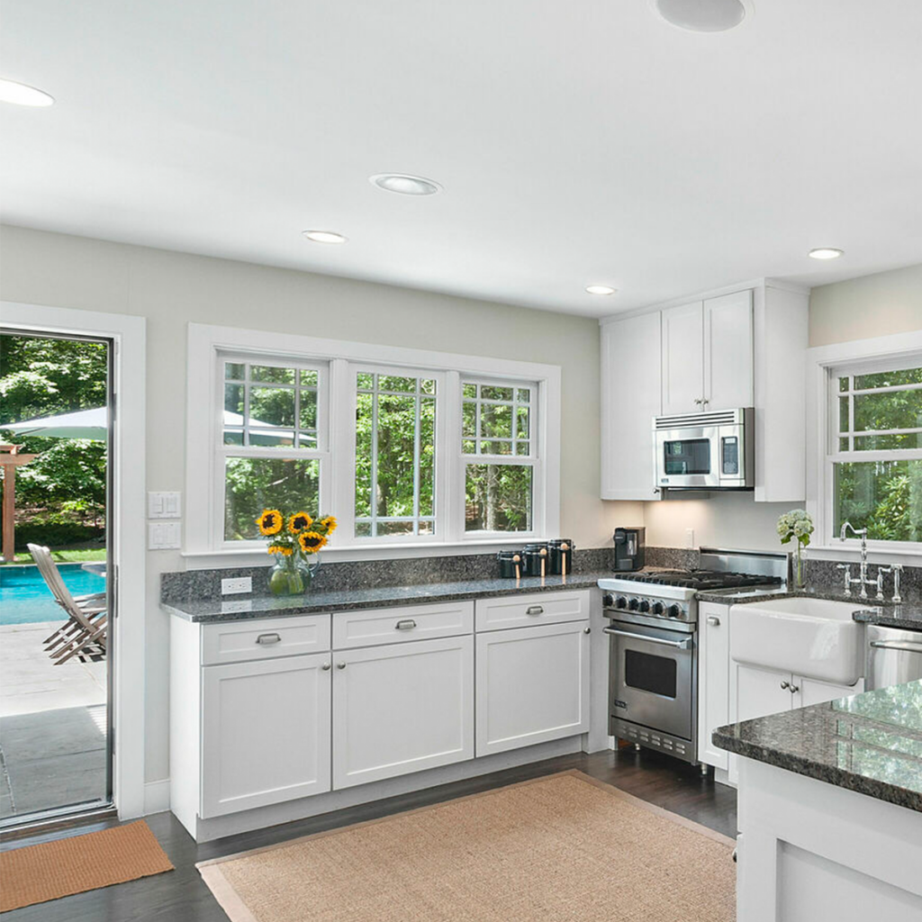 A photo of the kitchen at 25 Oyster Pond Ln, East Hampton