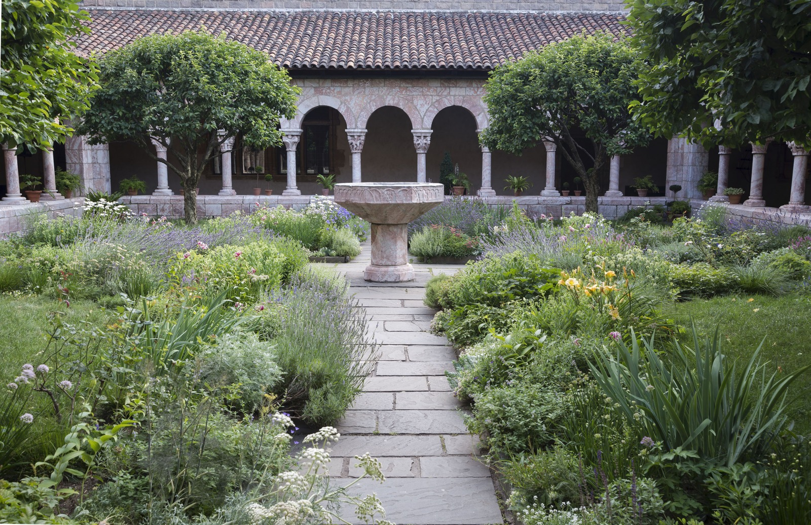 Best gardens in NYC the medieval gardens at the Met Cloisters