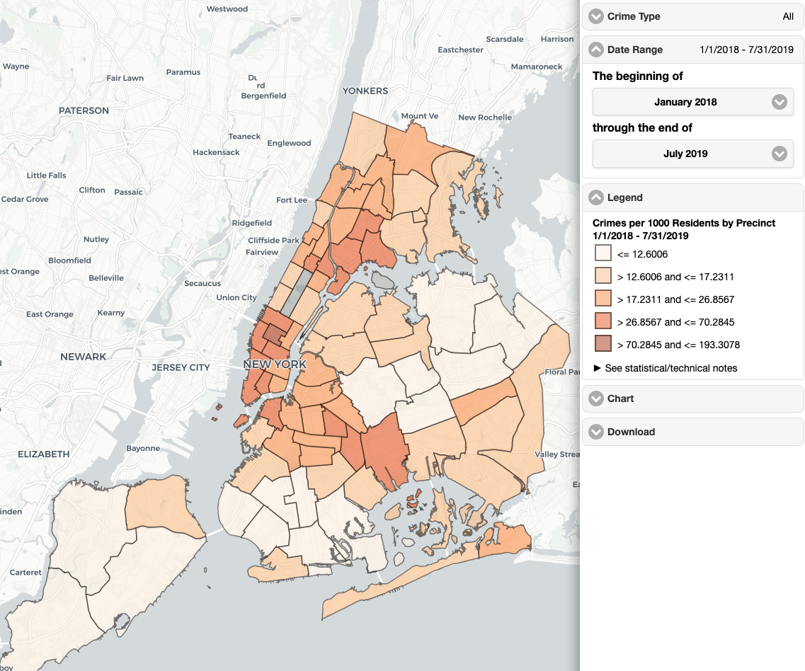 Here Are the Safest Neighborhoods in NYC for 2019 | StreetEasy Nyc Census Ethnic Distribution Map on census map charlotte, united states ethnic group maps, census 2012 data ethnic groups, china ethnic maps, census 2010 demographic profiles, ethnicities us maps,