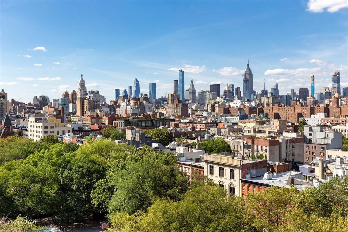 View of The Christodora House, New York City