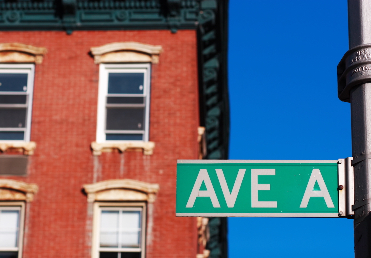 Avenue A NYC