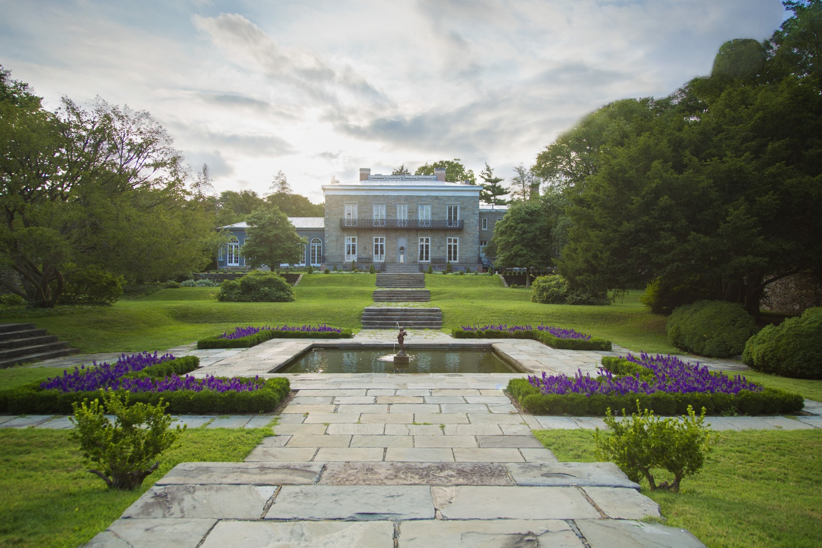 Bartow-Pell Mansion Museum and its formal garden