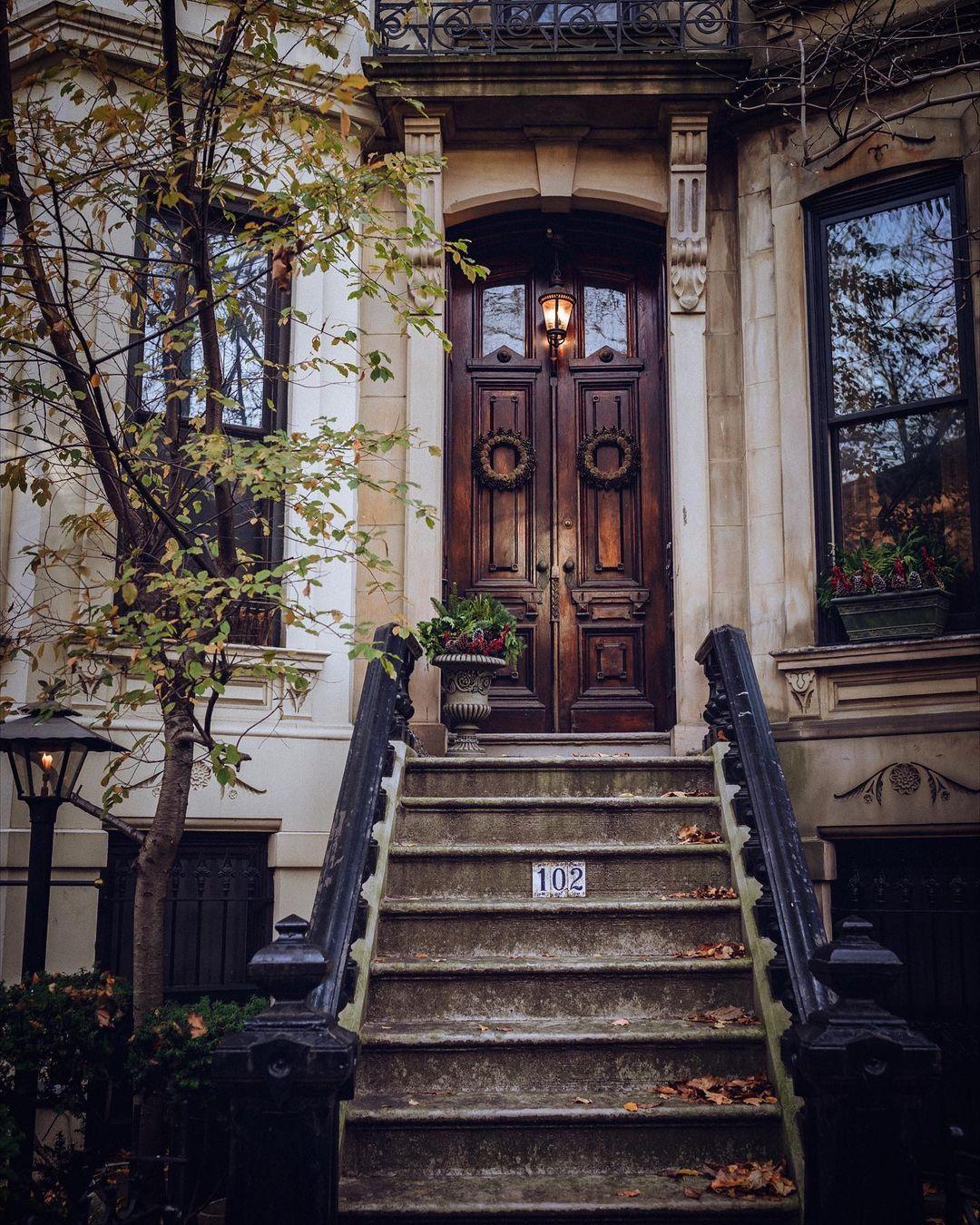 StreetEasyFinds town hall with wooden doors