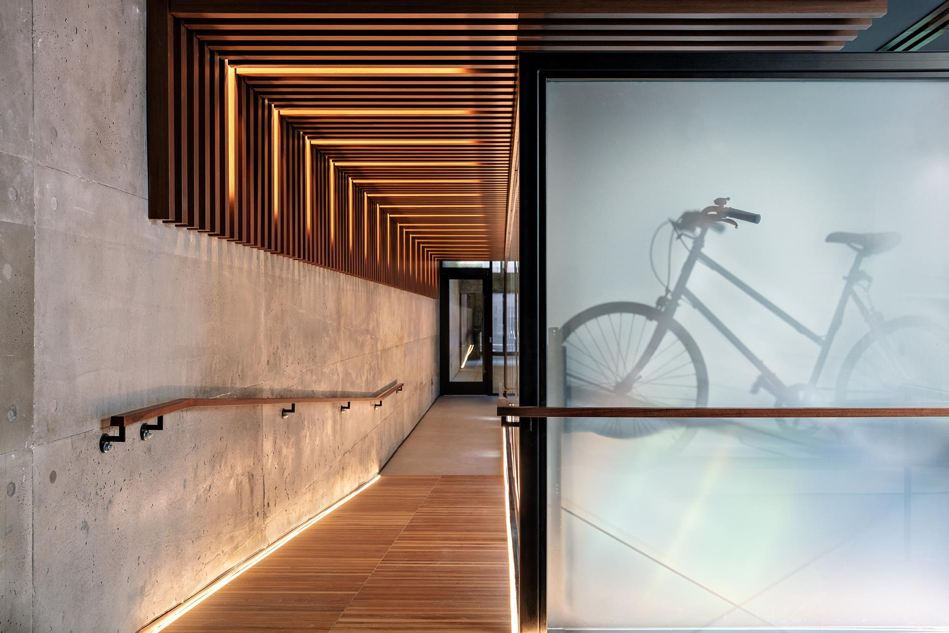 bicycle storage NYC in a luxury building