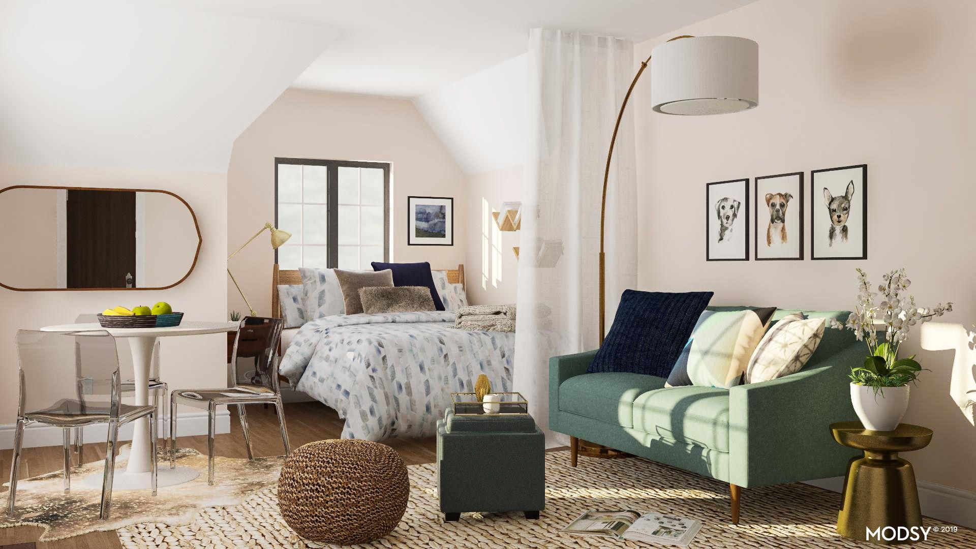 Living In A Studio Apartment 7 Space, Studio Living Room Furniture