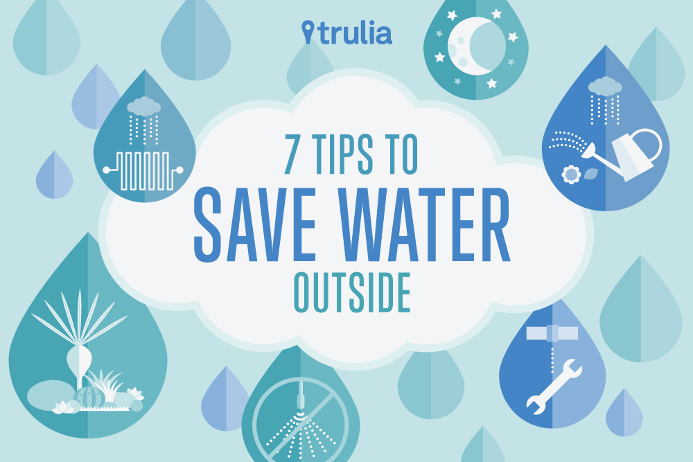 tips to save water outside