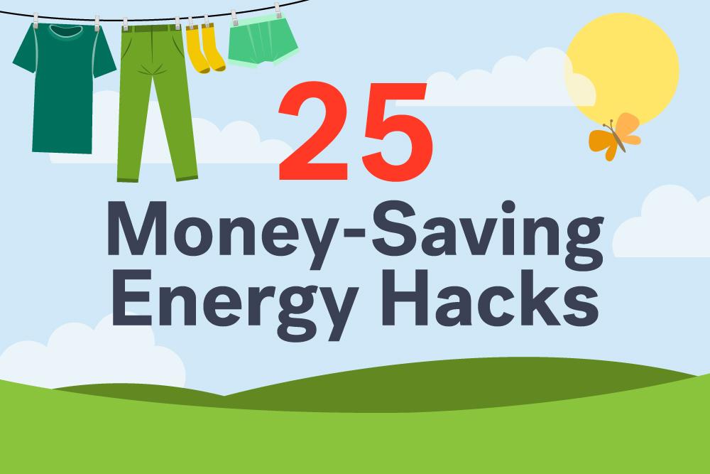 Money-saving hacks