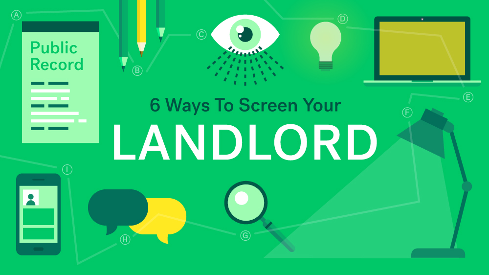 landlord background check ask neighbors