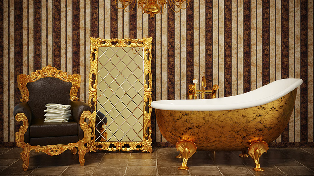 home decorating trends open bathrooms