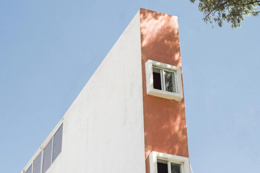 tall skinny apartment