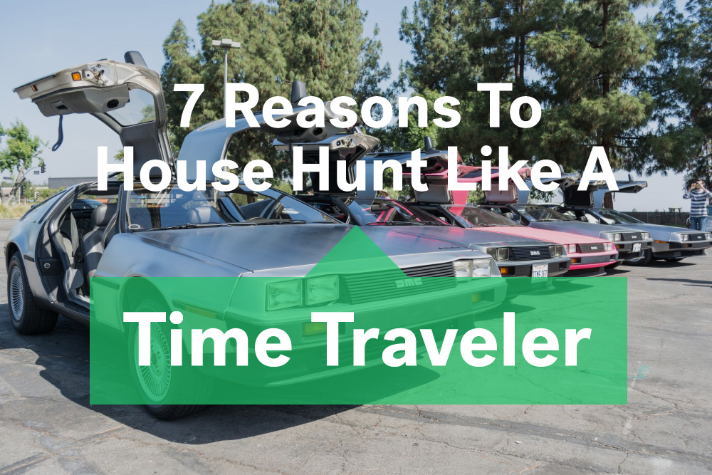 house hunt like you're in back to the future