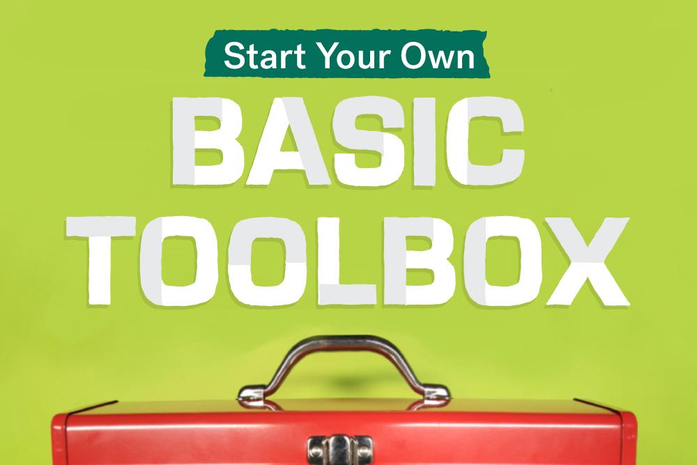 Essential tools toolbox