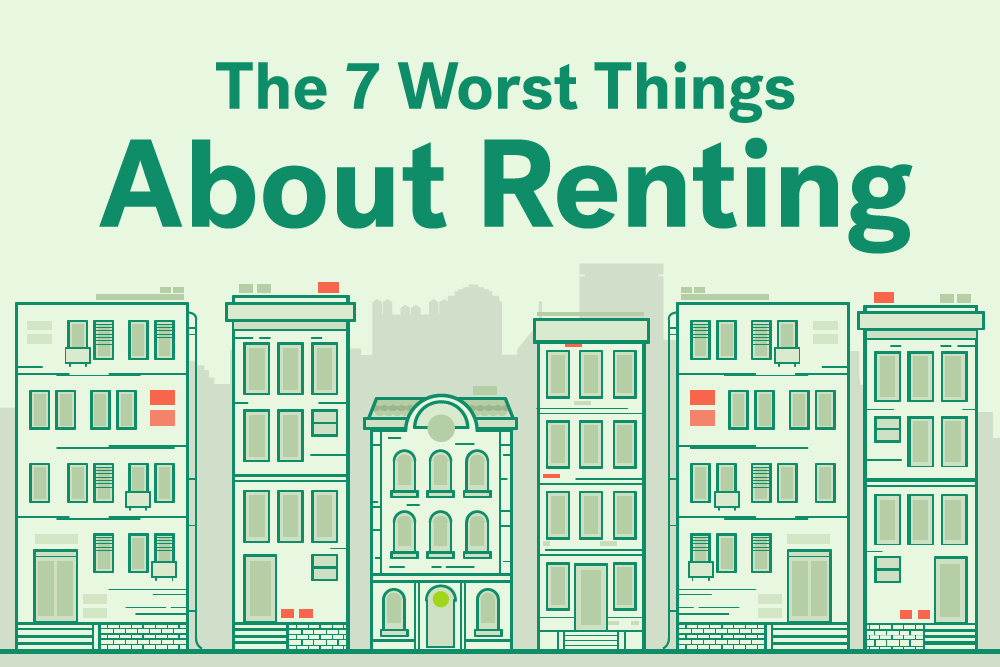 worst things about apartment living