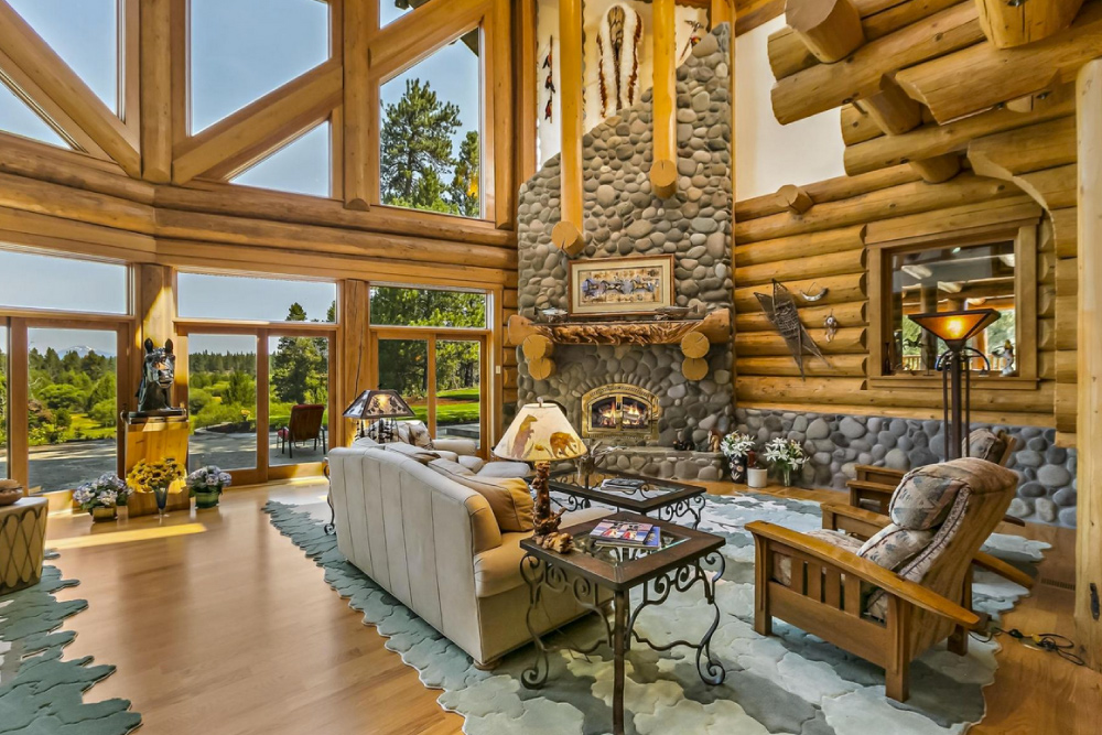 Fireplace designs La Pine Oregon