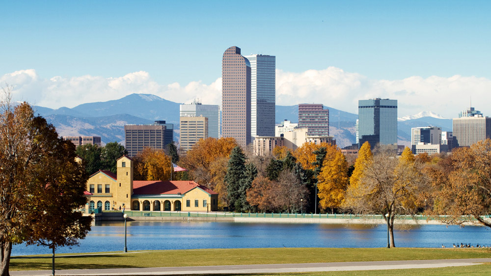 Denver Real Estate Skyline