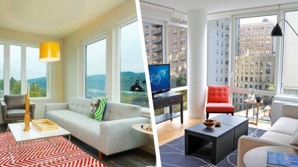 Tiny Portland and NYC studio apartments